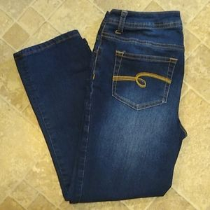 Justice ankle jeans size 16